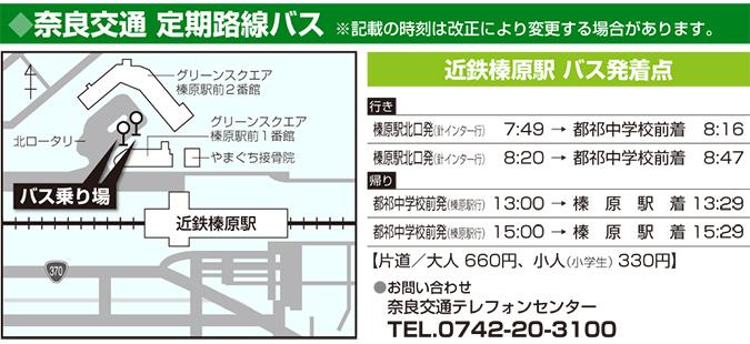 奈良交通 定期路線バス
